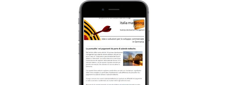 newsletter italia marketing