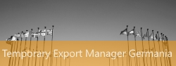 Temporary Export Manager Germania